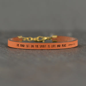 Load image into Gallery viewer, The Mind Set on the Spirit - Romans 8:6 Christian Bracelet by Laurel Denise
