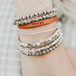 Choose Joy - Leather Bracelet
