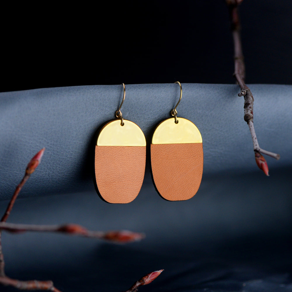 Bohemian Leather Earrings