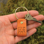 Fill Your Heart With What Matters - Keychain