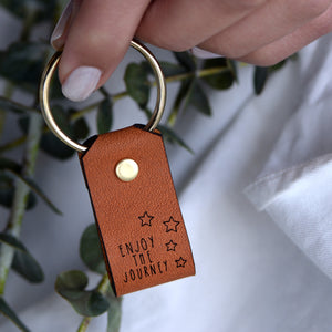 Enjoy the Journey - Keychain