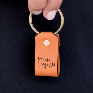 Load image into Gallery viewer, You Are Capable - Keychain