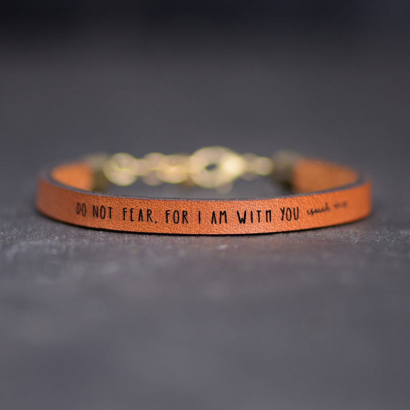 Isaiah 41:10 Do Not Fear For I Am With You - Christian Jewelry