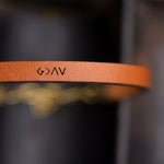 God is Bigger Than The Highs and Lows - Leather Bracelet