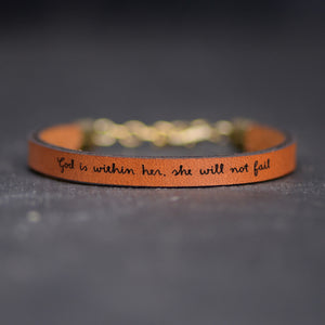 Load image into Gallery viewer, God is Within Her, She Will Not Fail - Christian Graduation Gifts by Laurel Denise