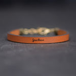Fearless - Leather Bracelet