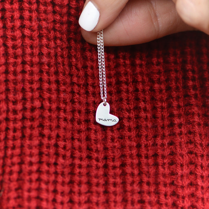 Mama Necklace - Engraved from Laurel Denise