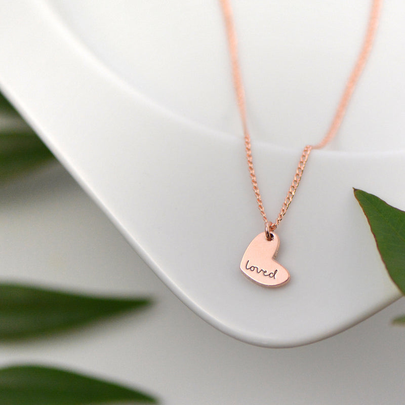 Loved Necklace - Engraved