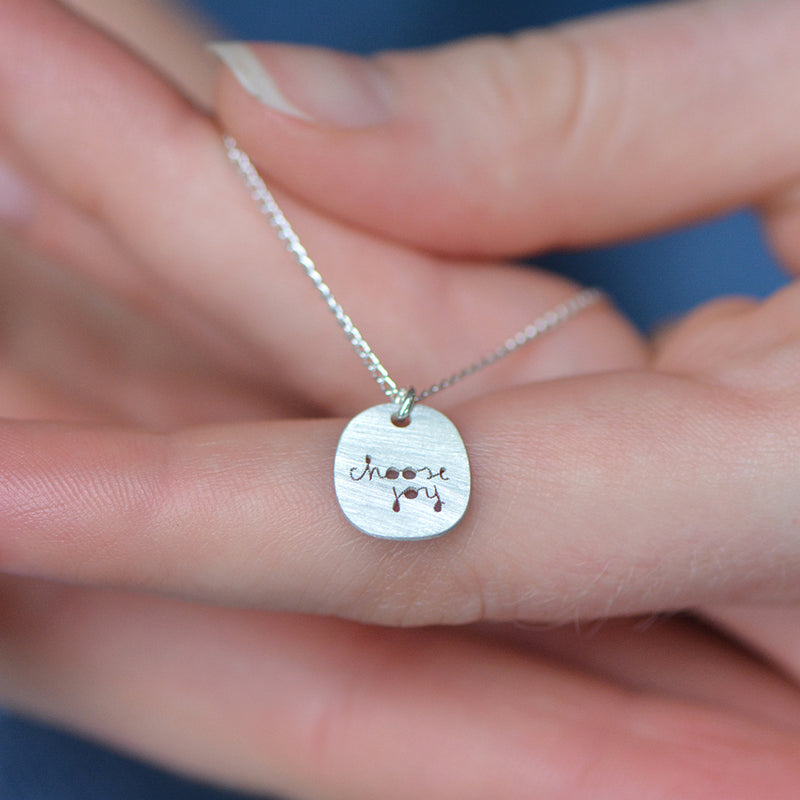 Choose Joy Necklace - peek-a-boo