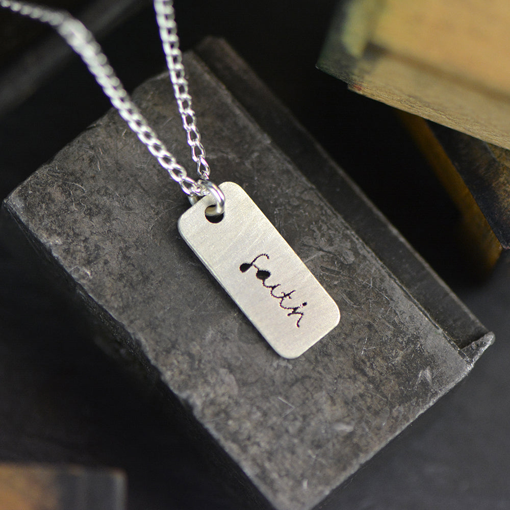 Faith Necklace - peek-a-boo