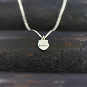 Fearless Necklace - Engraved