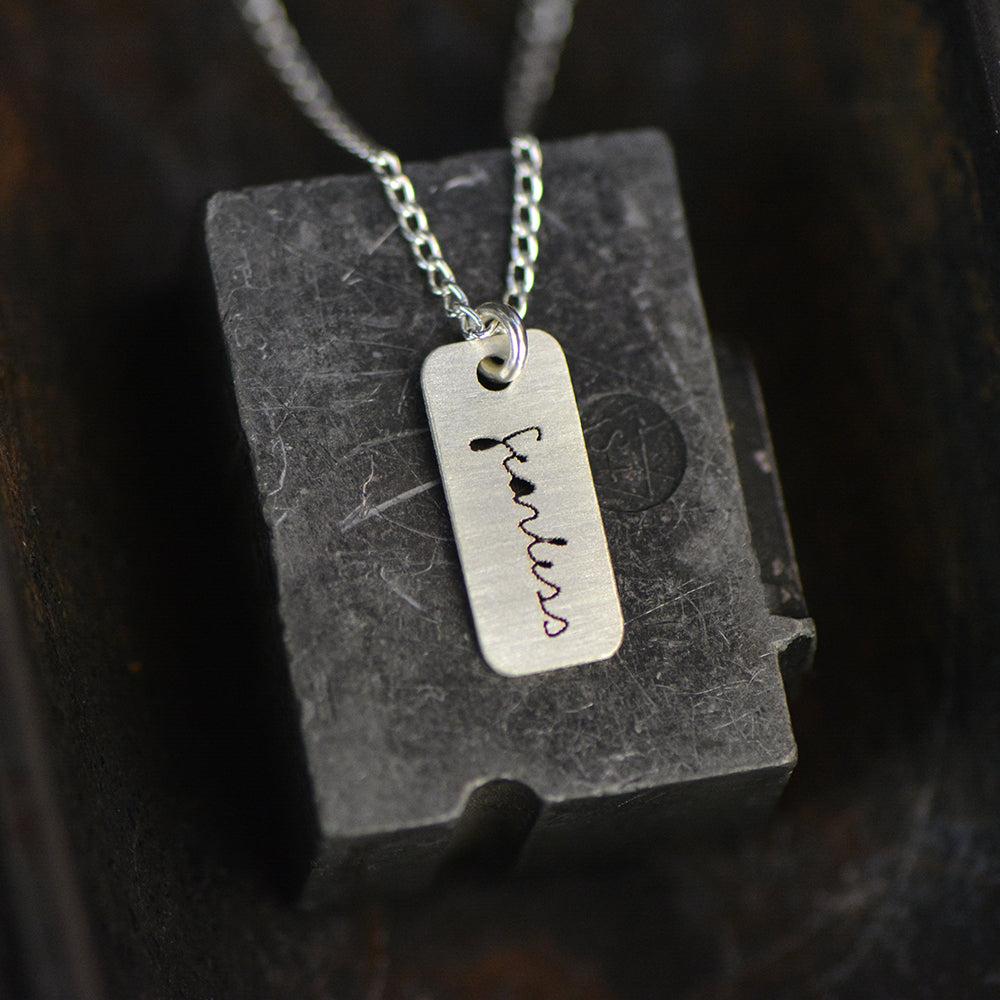 Fearless Necklace - peek-a-boo
