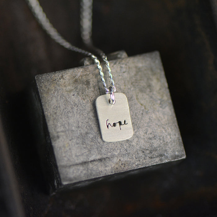 Hope Necklace - peek-a-boo