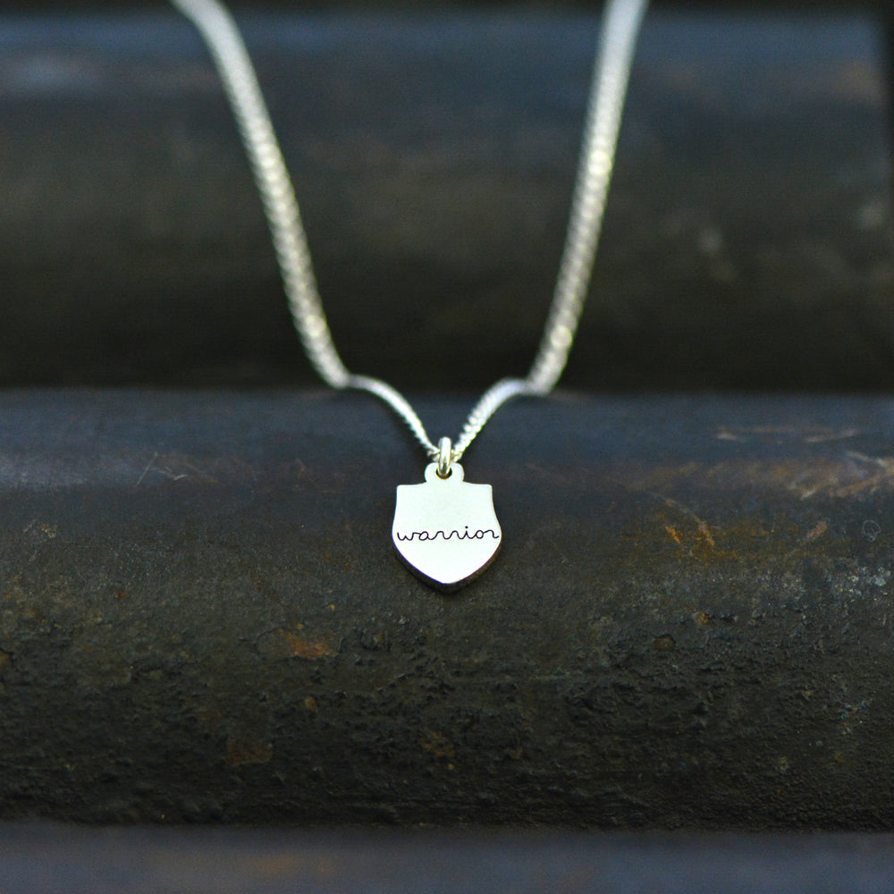 Warrior Necklace - Engraved
