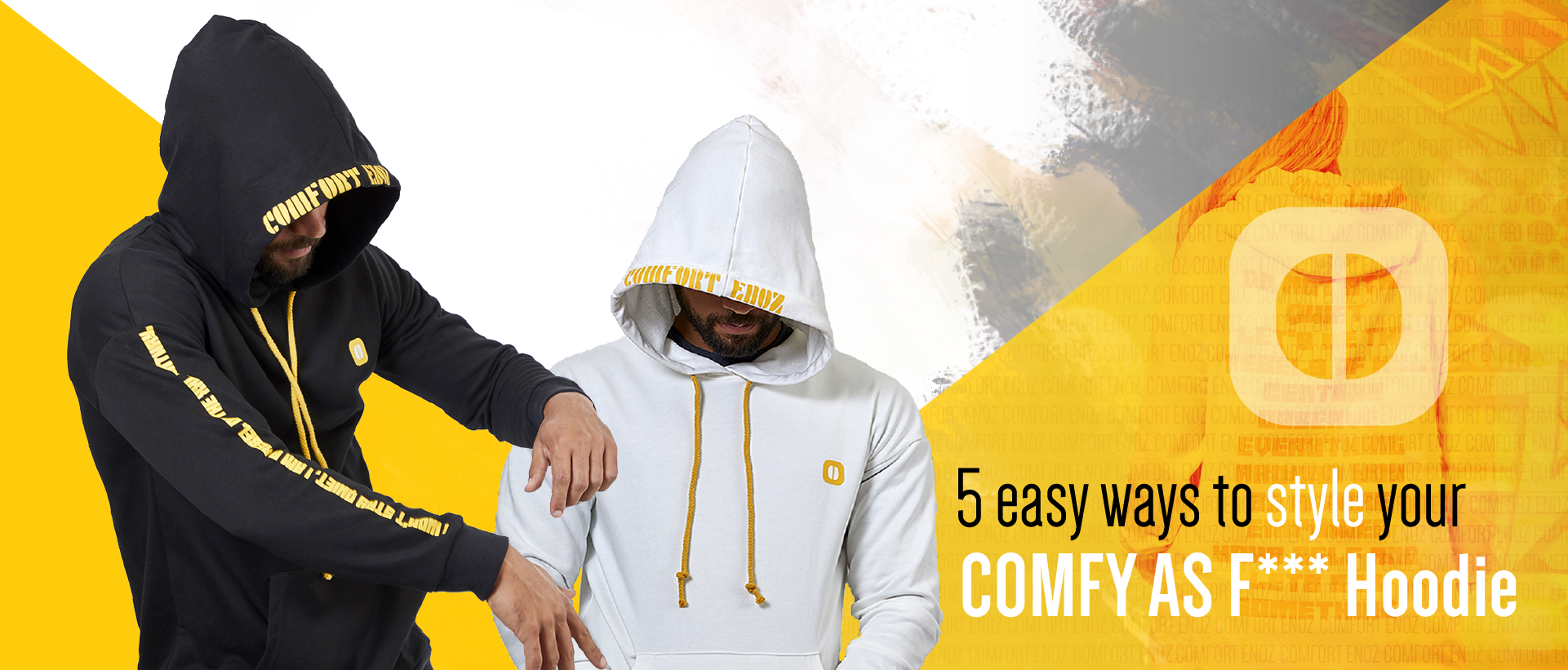 5 Easy Ways to Style Your Comfy As F**k Hoodie