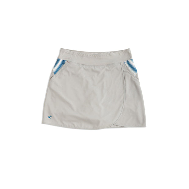 Women's North Sound SUP Skort | Gray - Bitter End Provisions
