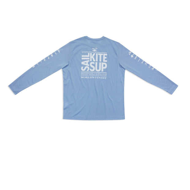 Men's Sail.Kite.SUP. Dri-Tek | Sky Blue-Tops-Bitter End Provisions