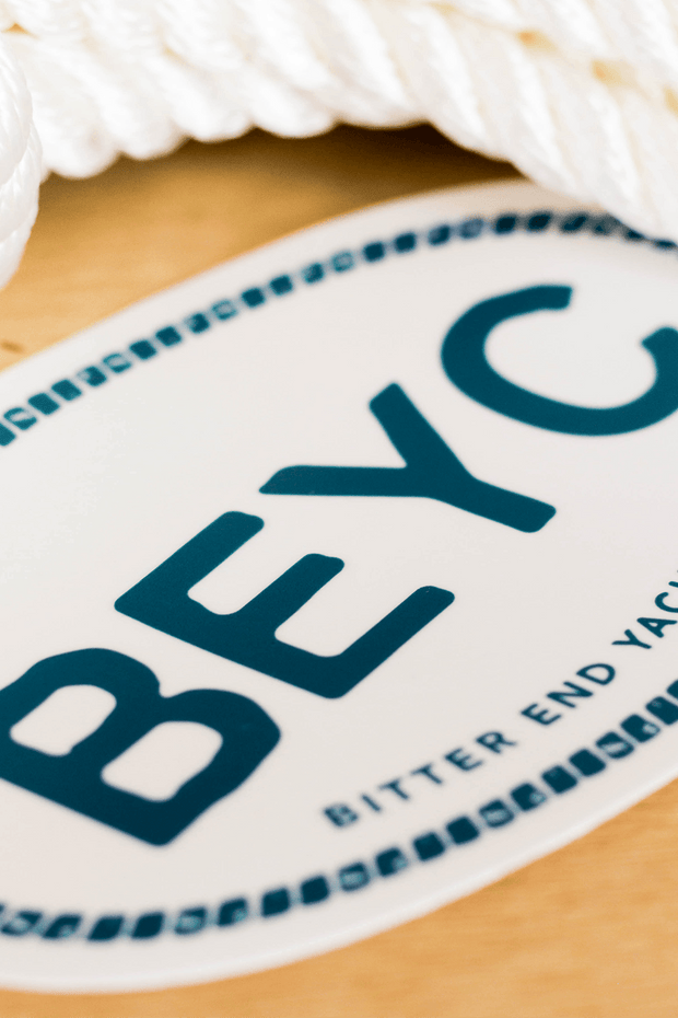 BEYC Euro Car Sticker-Boating Accessories-Bitter End Provisions