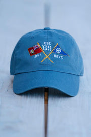BVI & Bitter End Cross Flags Cap-Accessories-Bitter End Provisions