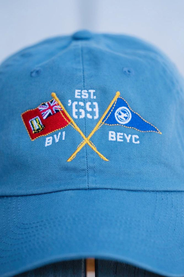 BVI & Bitter End Cross Flags Cap | Various Colors-Accessories-Bitter End Provisions