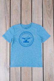 Men's Bitter End Classic Tee | Sky Blue-Tops-Bitter End Provisions