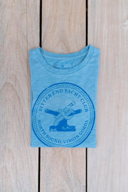 Kid's Bitter End Classic Tee | Sky Blue-Tops-Bitter End Provisions