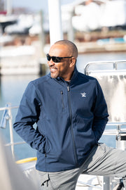 Men's Soft-Shell Water Resistant Jacket - Bitter End Provisions