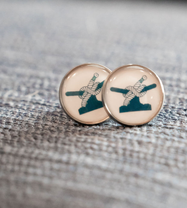 Cleat Earrings-Accessories-Bitter End Provisions