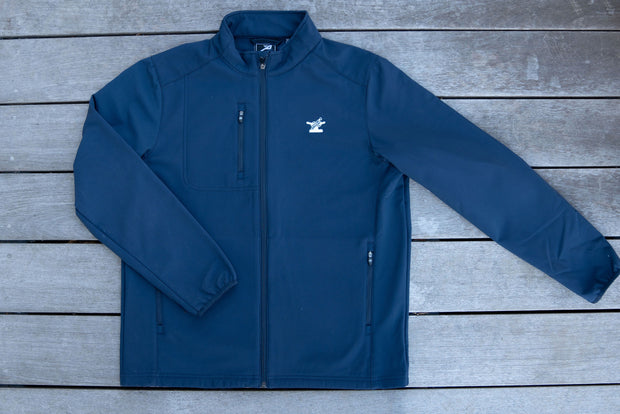 Men's Soft-Shell Water Resistant Jacket