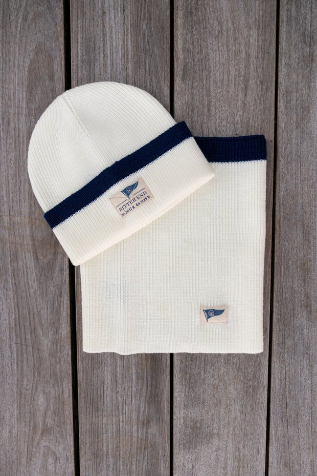 Ivory Knit Neck Warmer (Unisex)-Accessories-Bitter End Provisions