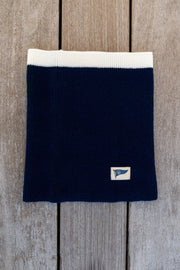 Navy Knit Neck Warmer (Unisex)-Accessories-Bitter End Provisions