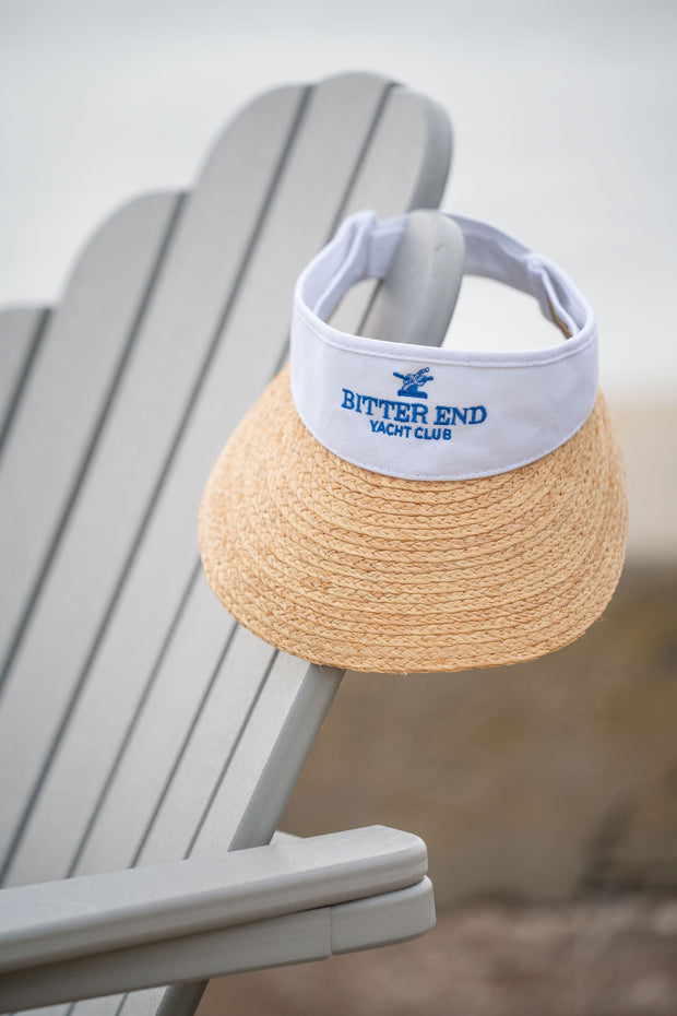 SunSet Sail Straw Visor