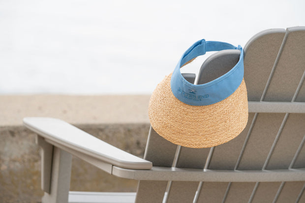 SunSet Sail Straw Visor-Accessories-Bitter End Provisions