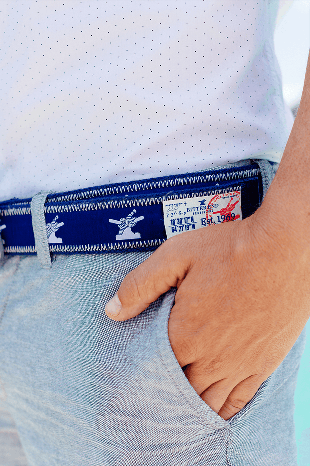 yacht club fashion featuring bottoms up belt
