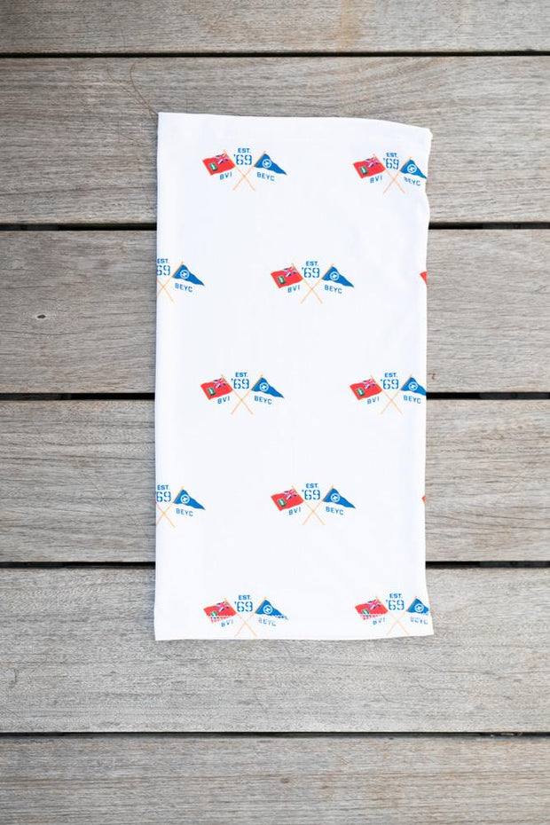 Cross Flag Neck Gaiter-Boating Accessories-Bitter End Provisions