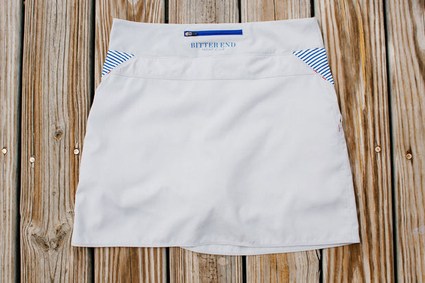 women's north sound SUP skort from a women's yachting apparel company