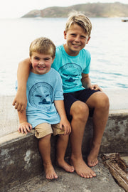Kid's Bitter End Classic Tee | Sky Blue