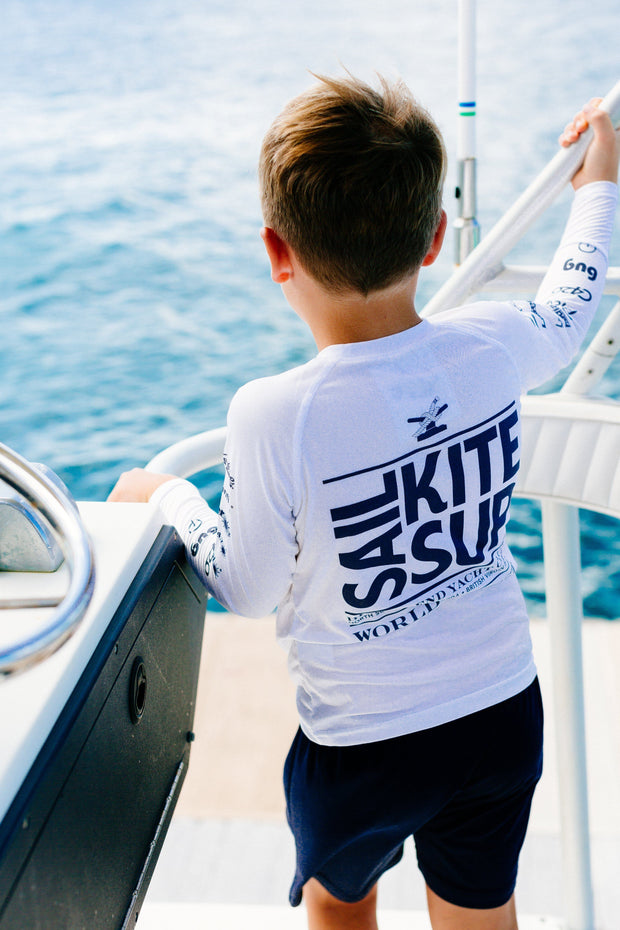 kid's Suntek shirt from a sailing gear company