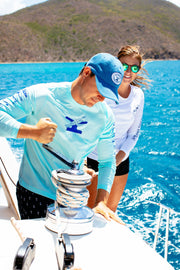men's SUP dri-tek shirt from a uv protective clothing company