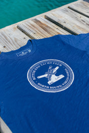 Men's Bitter End Classic Tee | Navy-Tops-Bitter End Provisions