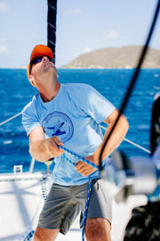 men's classic tee from a water sports swimwear company