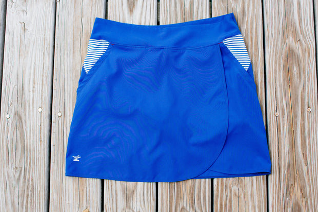 Women's North Sound SUP Skort | Royal Blue-Bottoms-Bitter End Provisions
