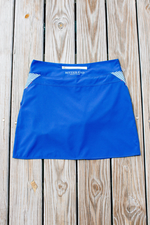 Women's North Sound SUP Skort | Royal Blue - Bitter End Provisions
