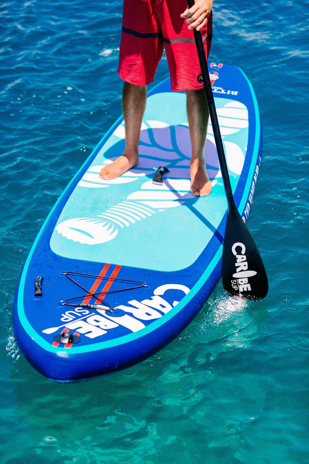 inflatable sundowner SUP from a sun protective clothing company