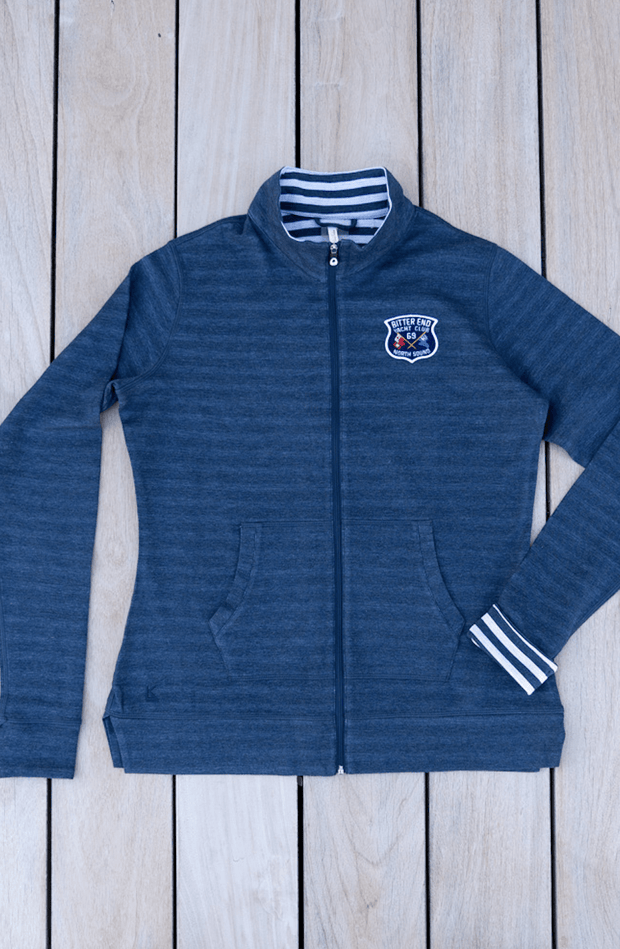 Women's YC Badge Zip-Up-Tops-Bitter End Provisions