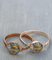 Nautical Map Hook Cord Bracelet-Accessories-Bitter End Provisions