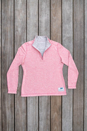 Women's Rum Runner Reversible Quarter Zip-Tops-Bitter End Provisions