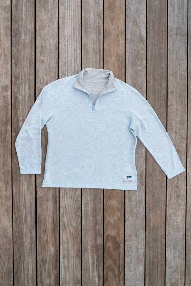 Men's Rum Runner Reversible Quarter Zip-Tops-Bitter End Provisions