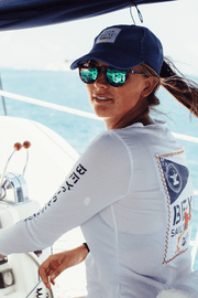 Women's Sailing Team Dri-Tek | White - Bitter End Provisions