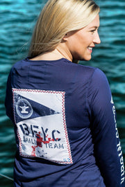 Women's Sailing Team Dri-Tek | Patriot Blue - Bitter End Provisions